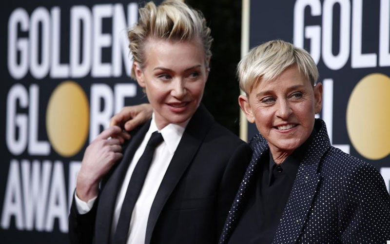 Ellen DeGeneres' wife speaks out as criticism of talk show host mounts