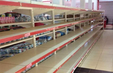 Empty shelves: There is a mega crisis at my supermarket