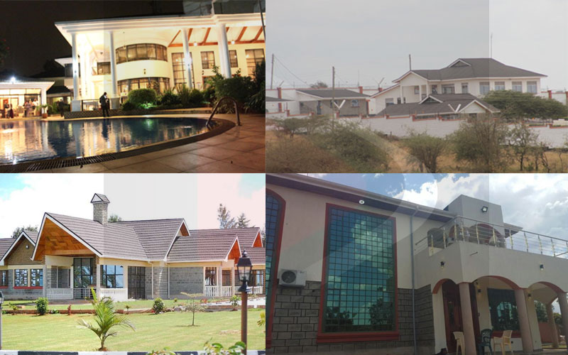 Five of the most palatial Kenyan politicians' homes