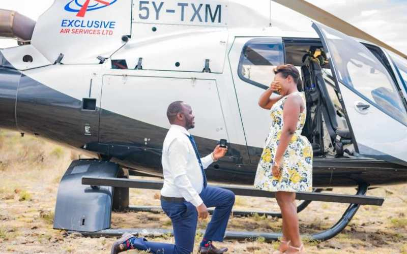 From live shows to helicopter rides, here is a list of unforgettable celebrity marriage proposals