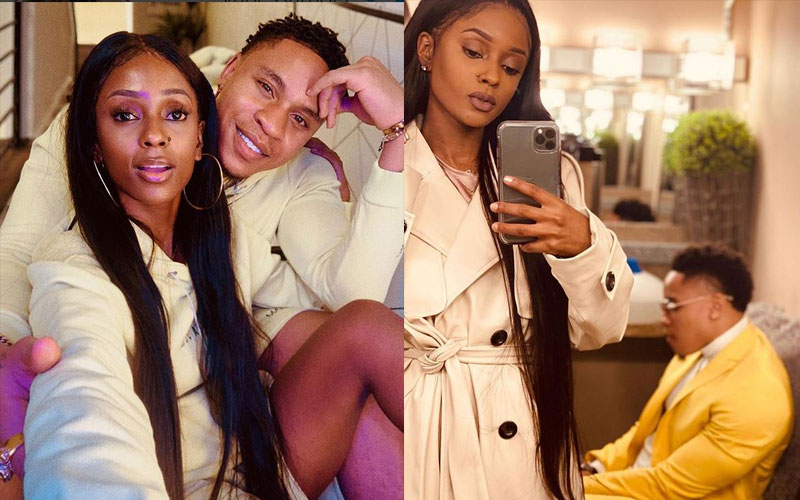 Furious Vanessa Mdee responds to claims Rotimi is physically abusive