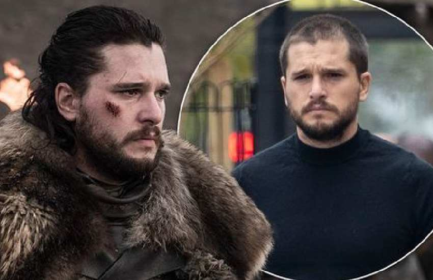 Game of Thrones' Kit Harington unveils dramatic new look as he ditches trademark hair