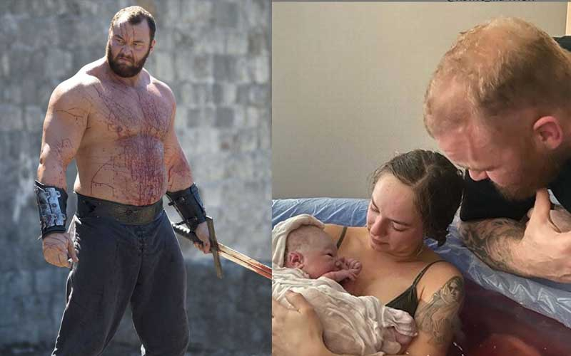 Game of Thrones' The Mountain welcomes baby boy with wife Kelsey