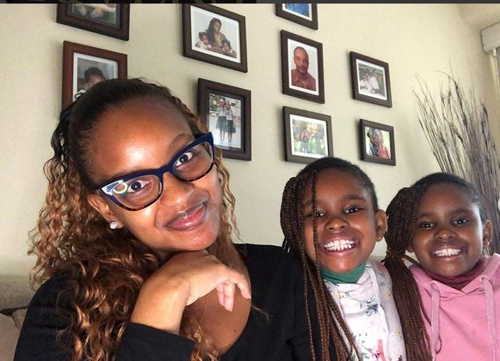 Grace Msalame speaks on challenge of  raising twins