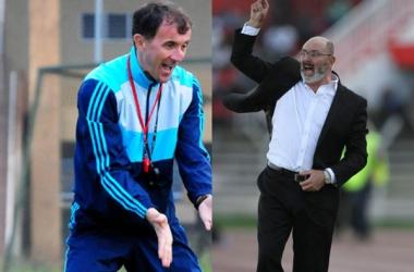 Harambee Stars coach Bobby accuses Uganda Cranes coach of backstabbing