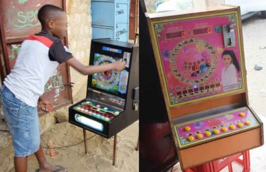 How betting machines are turning children into daily gamblers