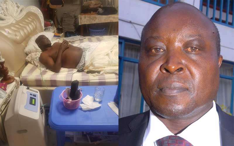 I couldn't walk: Nakuru MP recounts battling Covid-19 at home