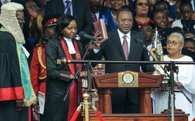 I will be president for all, Kenyatta's message to Kenyans