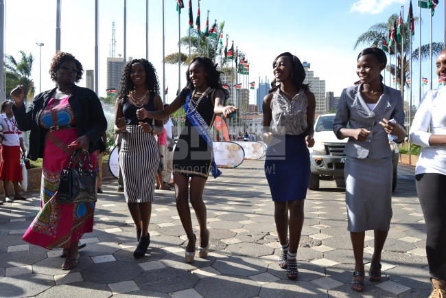 Miss Tourism Bungoma County dances her way into KICC
