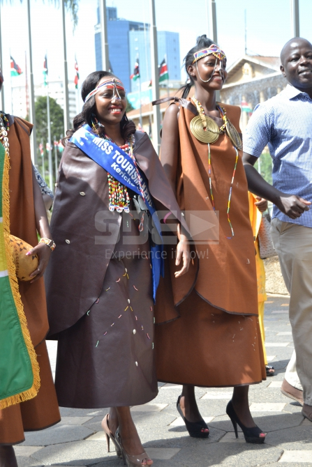 Kericho beauty looking stunning in traditional attire