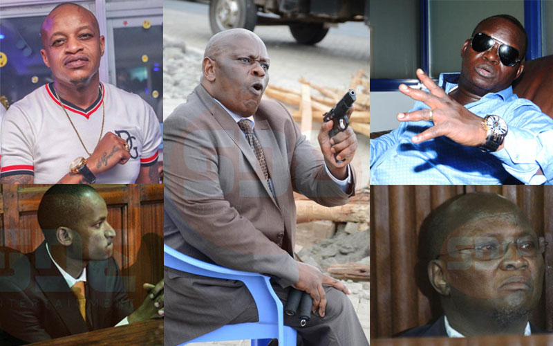 Impunity? Six prominent Kenyans involved in gun drama