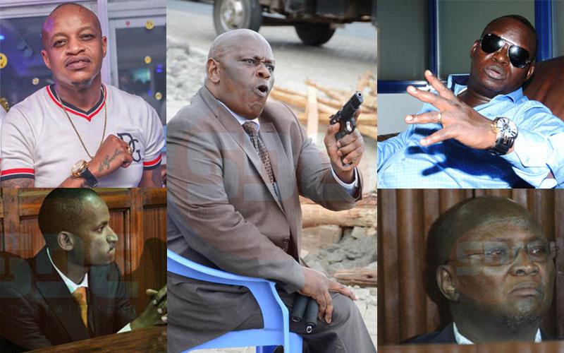 Impunity? Six prominent Kenyans involved in gun drama