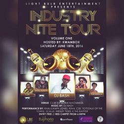 Industry Nite tours club Euphoria in Machakos this Saturday