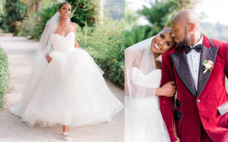 Issa Rae ties the knot in private ceremony