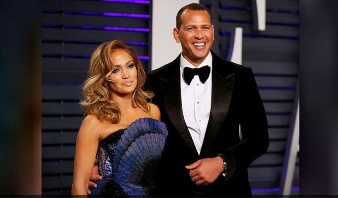 Jennifer Lopez surprises fiancé Alex Rodriguez as she dresses up as his ex Madonna
