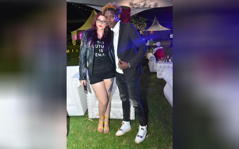 Dana de Grazia and Fed Omondi at the Katika Festiv