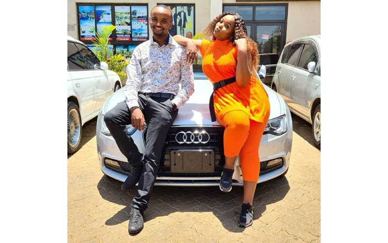 Kabi WaJesus returns luxurious car 'gifted' to him by wife