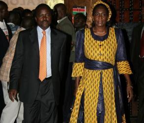 Kalonzo Musyoka dedicates award to wife who has been away from the public eye