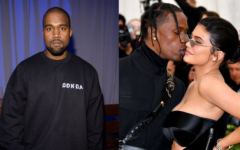 Kanye West teams up with Kylie Jenner's ex Travis Scott for new song