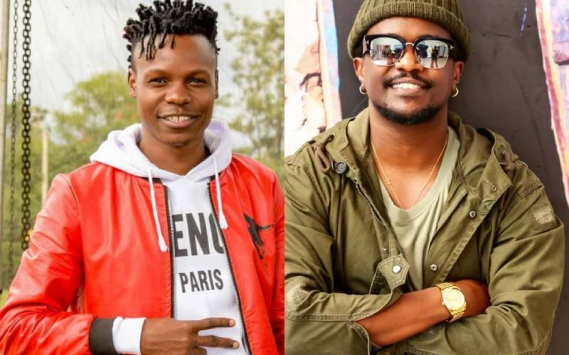 Kenyan artistes appreciating each other's talent