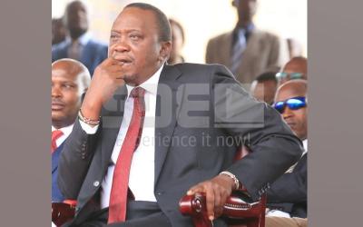 Kenyans send message to Uhuru Kenyatta hours before his inauguration
