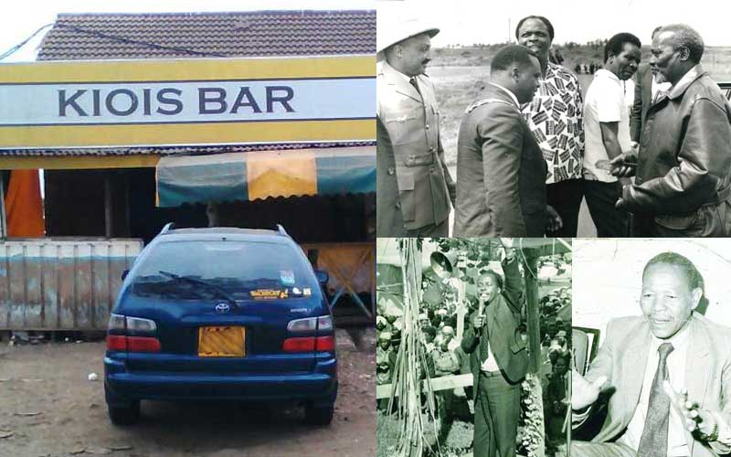 Kio's Bar: Historic Kasarani pub frequented by Mzee Jomo, prominent politicians
