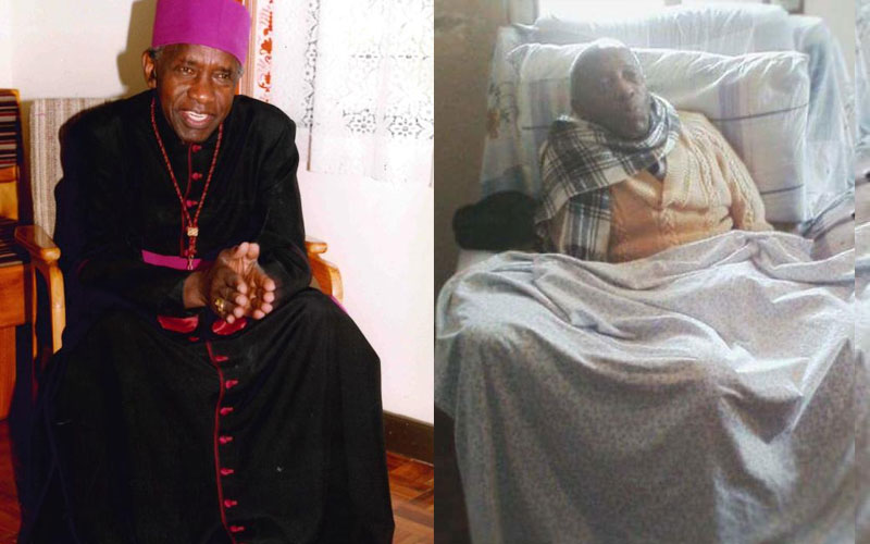 Late Archbishop Ndingi Mwana a'Nzeki spent time in a wheelchair or bed