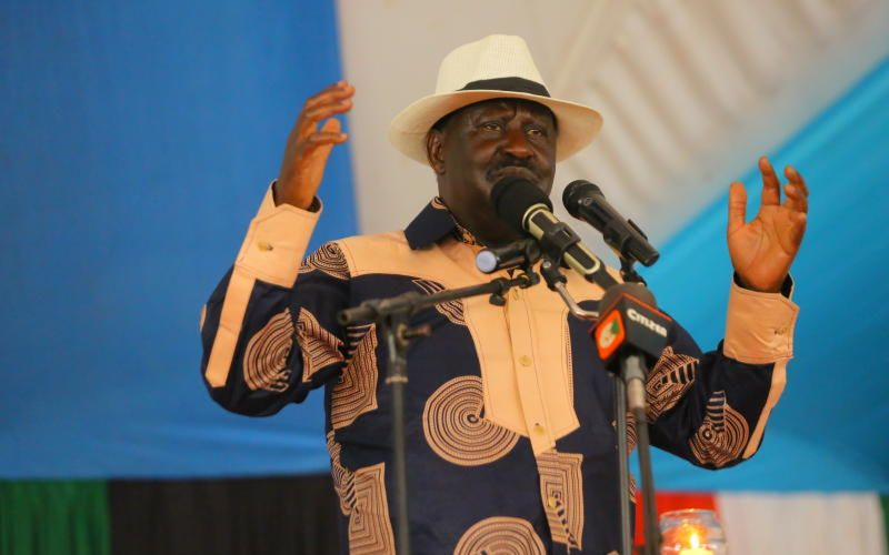 Leave if you cannot reconcile: Raila speaks on recent crimes of passion
