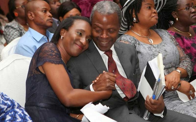 Love Message Nigeria's VP wrote before coming for Uhuru's Inauguration