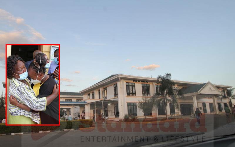 Mama Lucy Kibaki Hospital CEO in child theft case released
