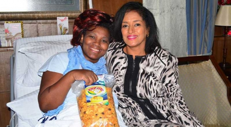 Esther Passaris and Rachel Shebesh forget their political differences and embrace each other in hospital