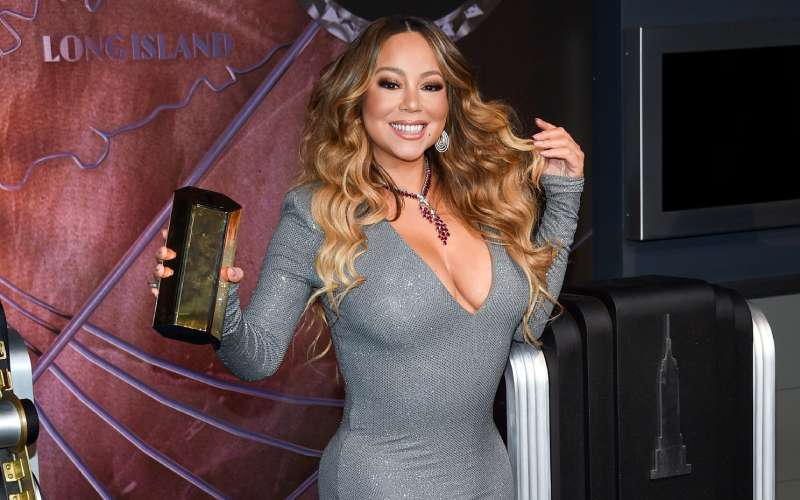 Mariah Carey insists it is time to celebrate Christmas just hours after Halloween