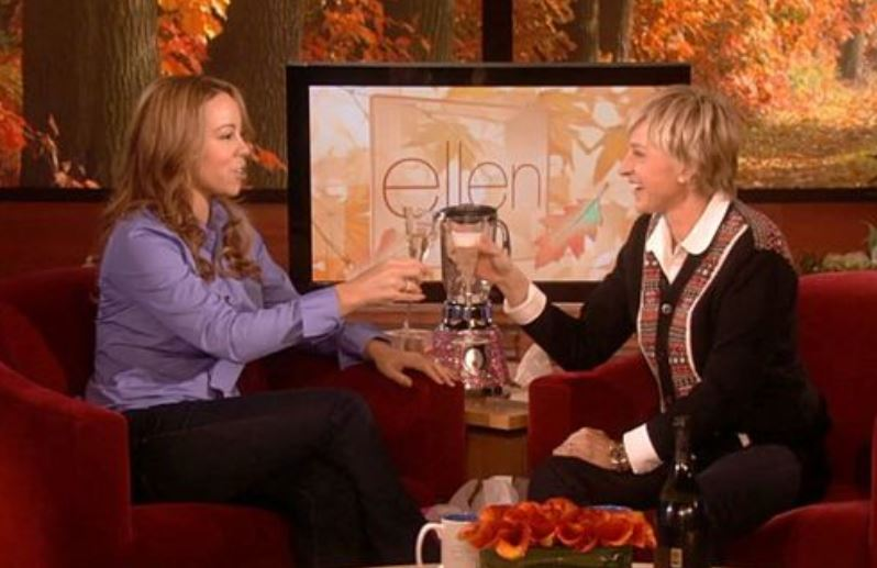 Mariah Carey was 'extremely uncomfortable' as Ellen DeGeneres 'forced' her to share pregnancy