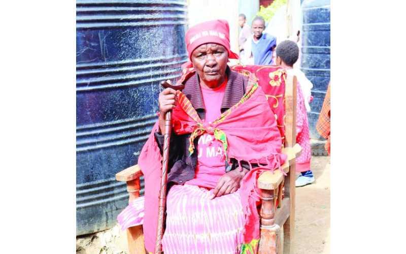 Mashujaa: Widow of Mau Mau fighter lives in slum