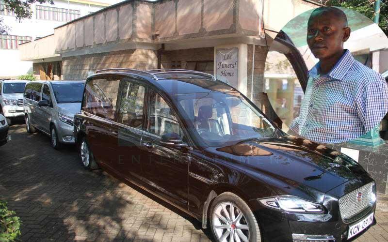 Meet the man who drives waheshimiwa to their graves