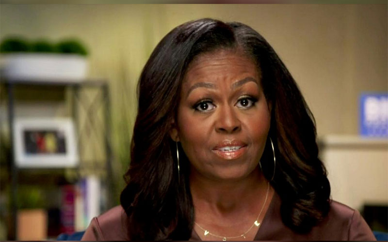 Michelle Obama launches scathing attack on Trump's leadership