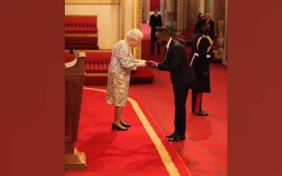 Moi University student honoured by Queen Elizabeth