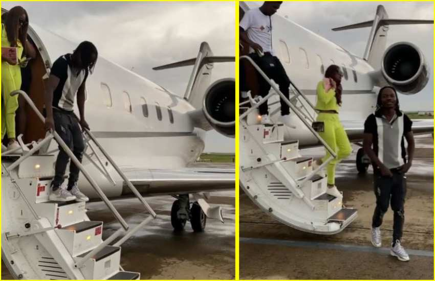 Rapper Naira Marley seething as row with private jet company escalates