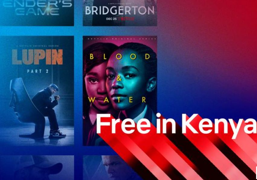 Netflix offers free plan in Kenya to entice new subscribers