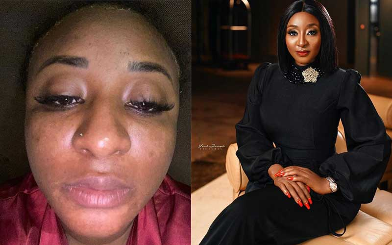 Nollywood's Ini Edo dismisses bleaching rumours, blames skin product