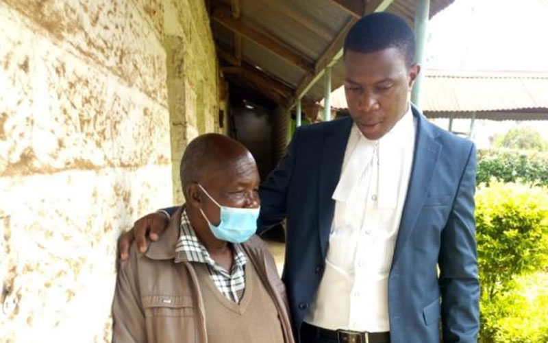 Nyeri businessman held over brutal murder of his son seeks bail