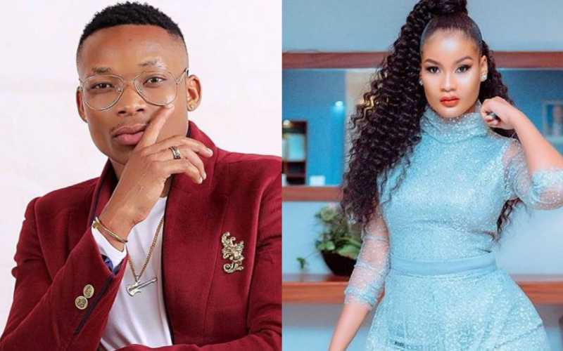 Otile Brown, Hamisa Mobetto cosy video raises eyebrows