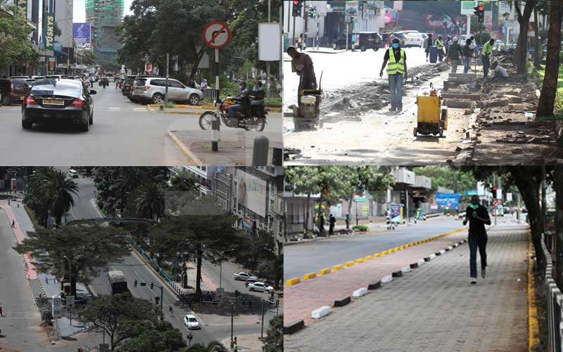 PHOTOS: Nairobi's pedestrian walkways transform city centre