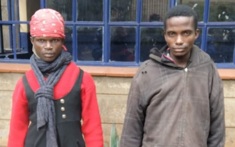Police arrest suspect masquerading as woman in Lang'ata
