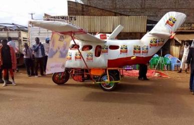 Uhuru awards Sh500,000 to brothers who built 'ground aeroplane'