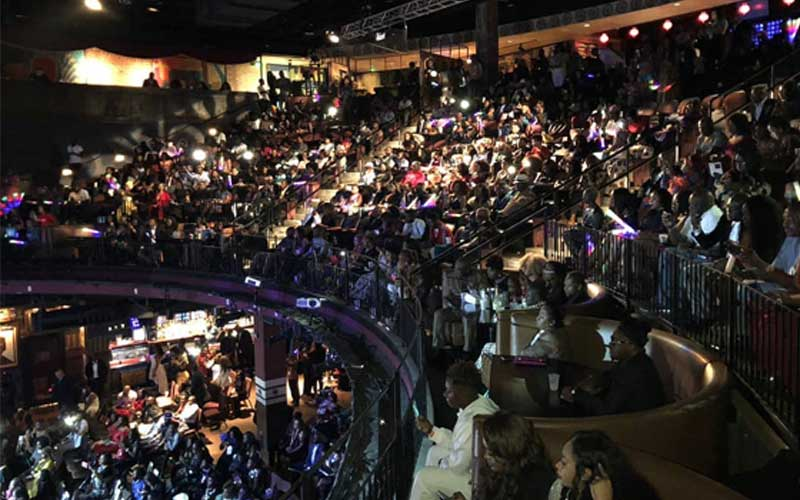 Audience at Afrimma Awards,2018