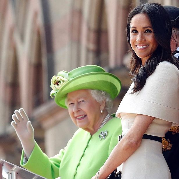Queen Elizabeth's birthday message to Meghan Markle