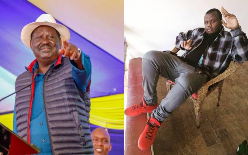 Raila says Mejja's 'Tabia za Wakenya' describes Kenyan behaviour