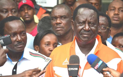 Raila 'in good health and ready for campaign' after falling ill