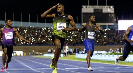 Retiring sprinter, Usain Bolt,  likened to boxing great Muhammad Ali